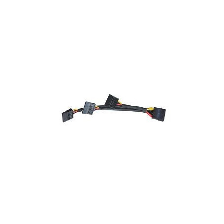 Lian-li PW-SA3 4Pin molex to 3x Sata power adapter cable FRPS-LA4P3S
