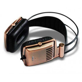 Krator Dione c-1140C full Aluminum Brushed Housing Copper Hi-Fi Headphones FRHS-K1140C