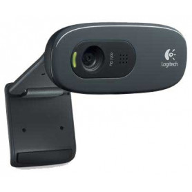 Logitech C270 HD Black 3Mp 720p HD Webcam