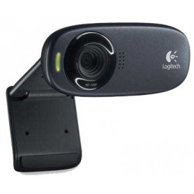 Logitech C310 HD Black 5Mp HD 720p Webcam