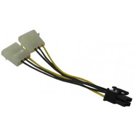 Generic 2x4pin Molex to 6pin Converter