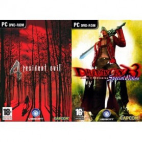 PC Exclusive Compilation Devil May Cry 3 and Resident Evil 4 ME3307219944734