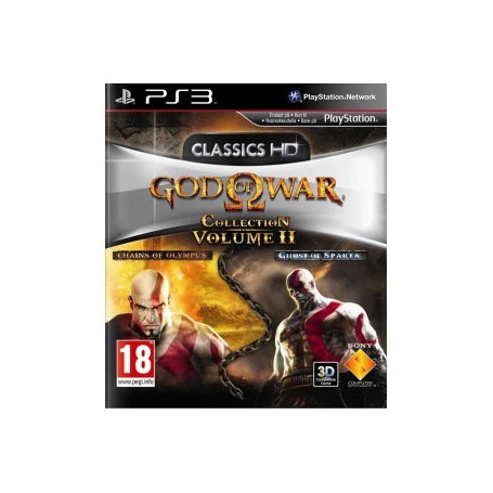 PS3 God of War Collection Volume 2 - ZapsOnline