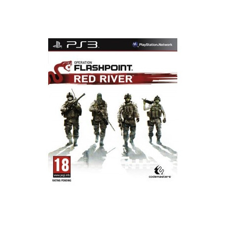 PS3 Operation Flashpoint: Red River ME5024866346275