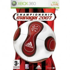 Used Xbox 360 Championship Manager 2007