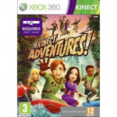 Used Xbox 360 Kinect Adventures
