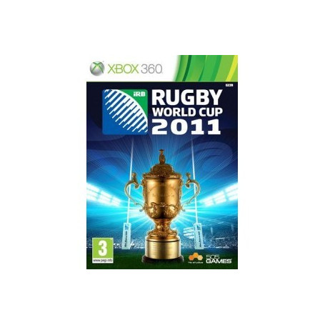 Used Xbox 360 Rugby World Cup 2011