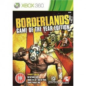 Used Xbox 360 borderlands GOTY