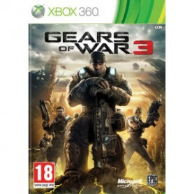 Used Xbox 360 Gears of War 3