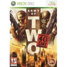 Used Xbox 360 Army of Two the 40th Day