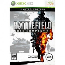 Used Xbox 360 Battlefield Bad Company 2 Limited Edition