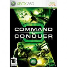Used Xbox 360 Command and Conquer 3 Tiberium Wars