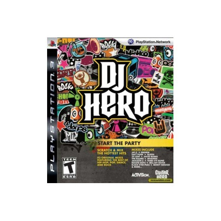 Used PS3 DJ Hero