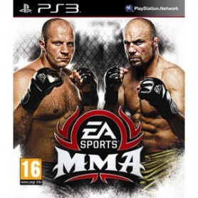 Used PS3 EA Sports MMA