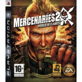 Used Ps3 Mercenaries 2