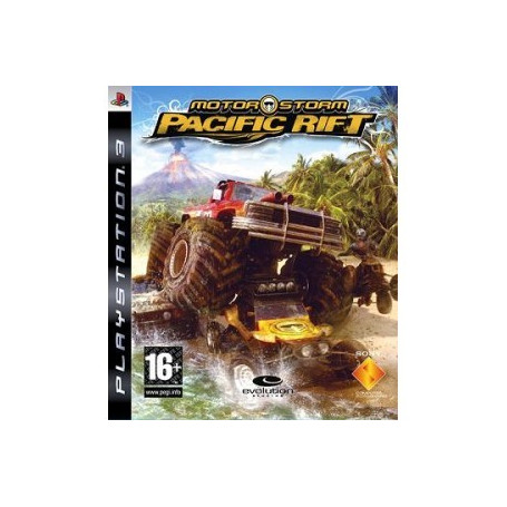 Used Ps3 Motor Storm Pacific Rift