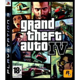 Used PS3 Grand Theft Auto 4