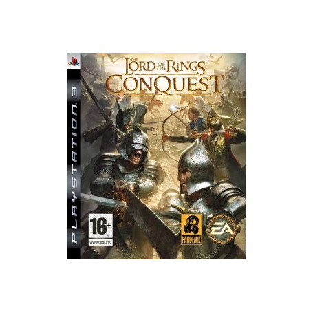 Used PS3 Lord of the Rings Conquest