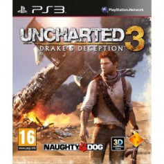 Used PS3 Uncharted 3 Drakes Deception