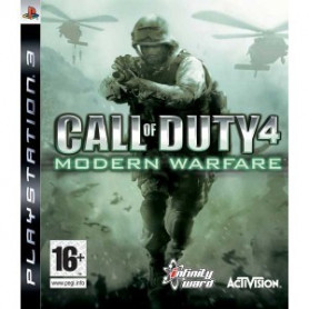 Used PS3 Call of Duty 4 Modern Warfare