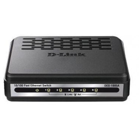 D- Link DES 1005 ade 5 Port 10 100 Unmanaged Switch