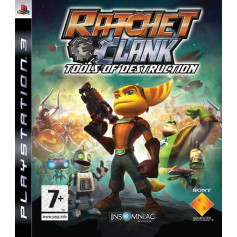 Used PS3 Ratchet & Clank Future Tools of Destruction
