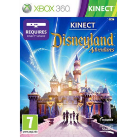 Used Xbox 360 Kinect Disneyland Adventures