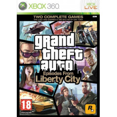 Used Xbox 360 Grand Theft Auto Episodes from Liberty City
