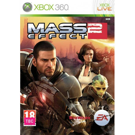 Used Xbox 360 Mass Effect 2