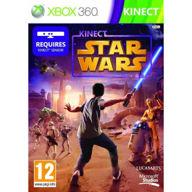 Used Xbox 360 Kinect Star Wars