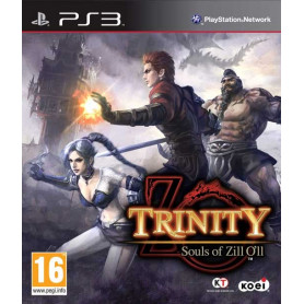 Used PS3 TRINITY Souls of Zill