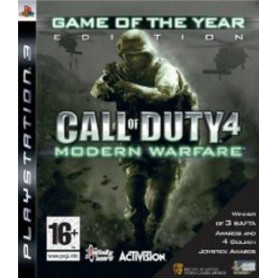 PS3 Call of Duty Modern Warfare Game of the Year Edition Platinum