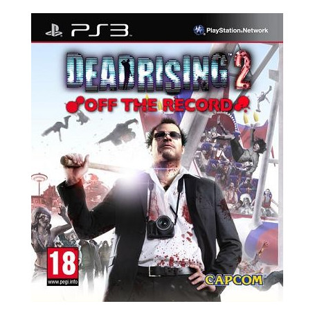 Used Ps3 Dead Rising 2 Off The Record