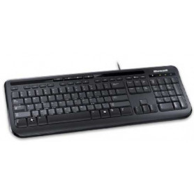 Microsoft 600 Black 5 hotkeys Wired Keyboard