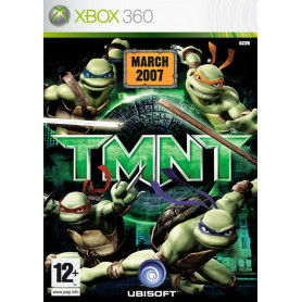 Used Xbox 360 Teenage Mutant Ninja Turtles