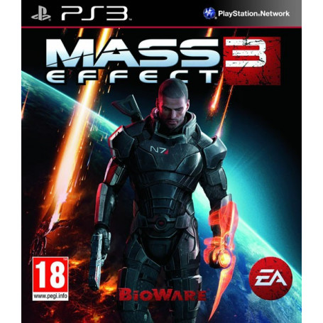 Used PS3 Mass Effect 3