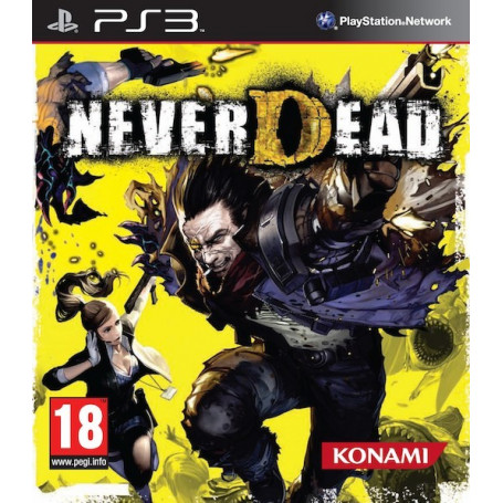 Used PS3 NEVERDEAD