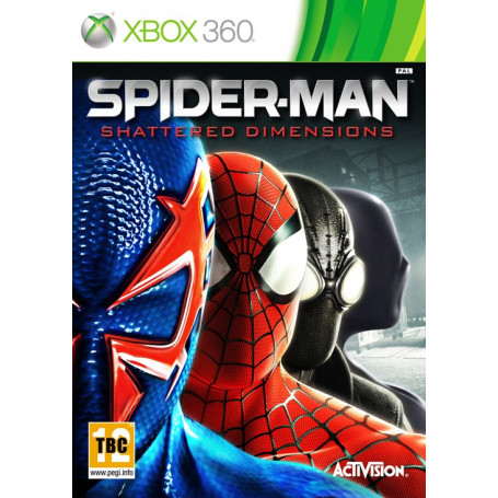 Used Xbox 360 Spider-Man Shattered Dimensions