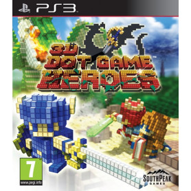 Used PS3 3D Dot Game Heroes