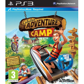 Used PS3 Cabelas Adventure Camp