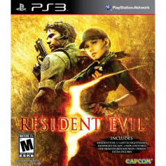 Used PS3 Resident Evil 5 Gold Edition