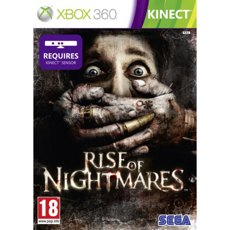 Used Xbox 360 Rise of Nightmares