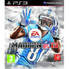 Used PS3 Madden NFL 13