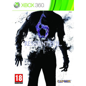 Used Xbox 360 Resident Evil 6