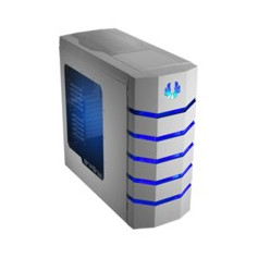 Bitfenix CLS-500-WWWB1 Colossus with Windowed side panel - White with Blue led Case
