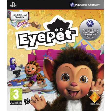 Ps3 Eyeoet Move Edition pre owned