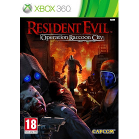 X-Box 360 Resident Evil Operation Racoon City Pre owned