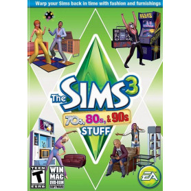Pc THE SIMS 3 70's, 80's & 90's Stuff Pack