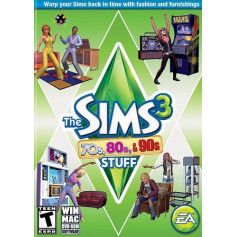 THE SIMS 3 70's, 80's & 90's STUFF PACK (SP8)