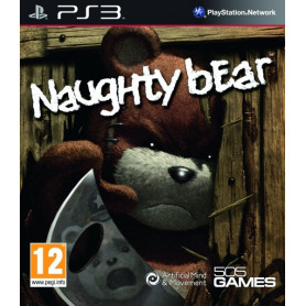 Ps3 Naughty Bear Pre Owned